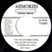VELVETONES - GLORY OF LOVE