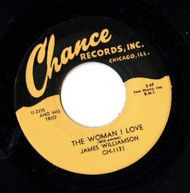 JAMES WILLIAMSON - THE WOMAN I LOVE