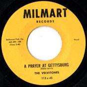VELVITONES - PRAYER AT GETTYSBURG
