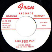 PERCY WELCH - BACK DOOR MAN
