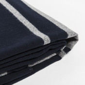 Woolrich Charcoal Stripe Blanket