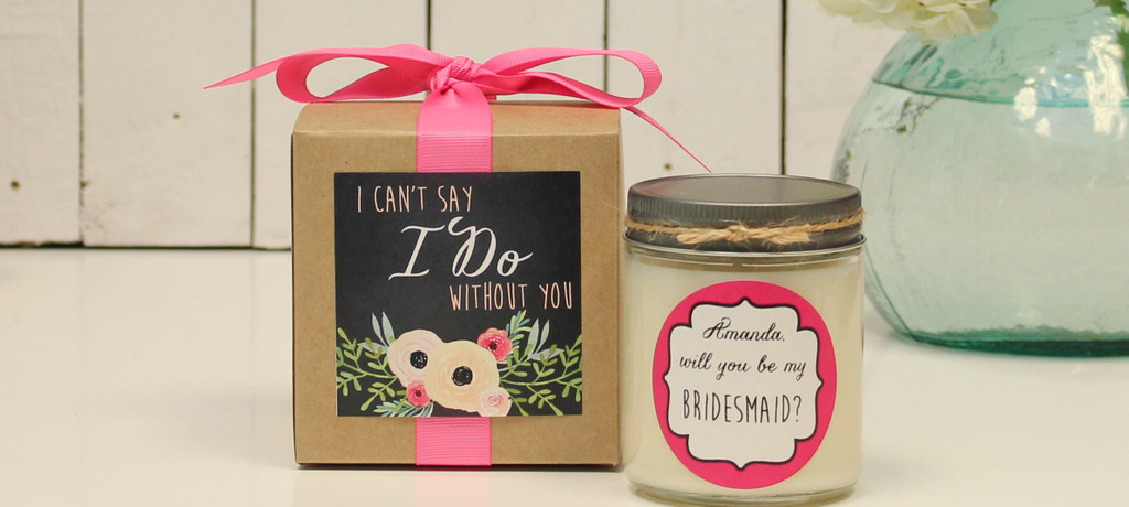 Bridal Party Gift Candles