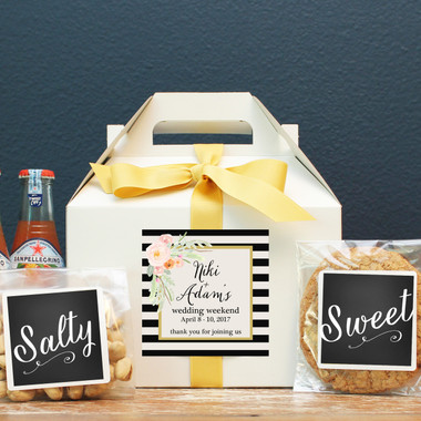 Wedding Welcome Boxes - Niki Label Design
