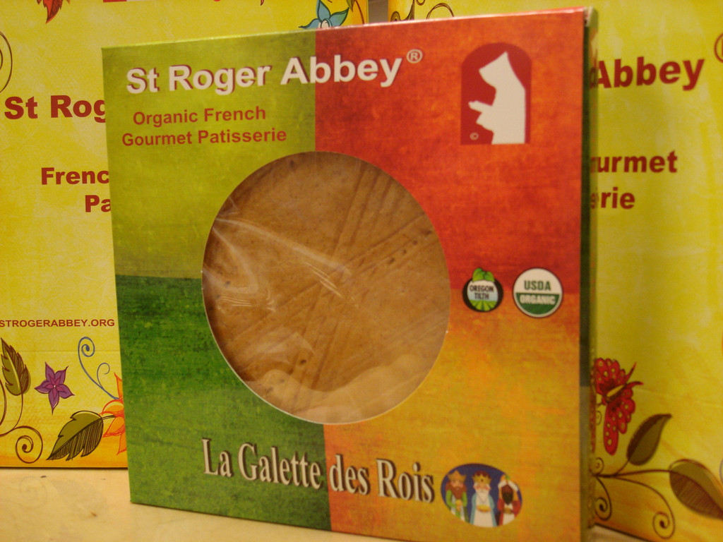 Organic Galette des rois by St Roger Abbey