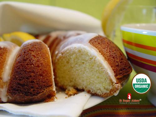 ORGANIC LEMON CROWN CAKE