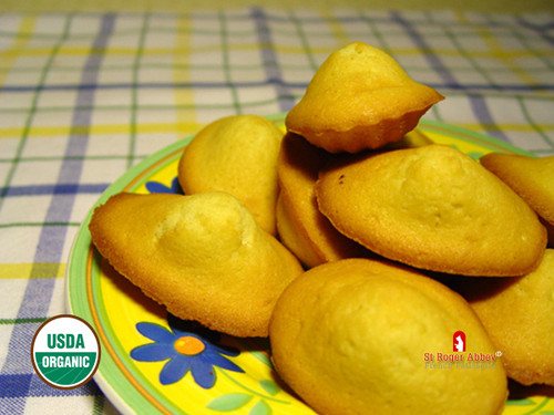 AUTHENTIC ORGANIC FRENCH MADELEINE