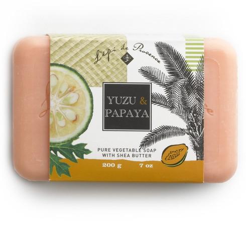 Yuzu & Papaya French-Milled Soap