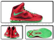 Nike Lebron X Red Diamond 541100-600
