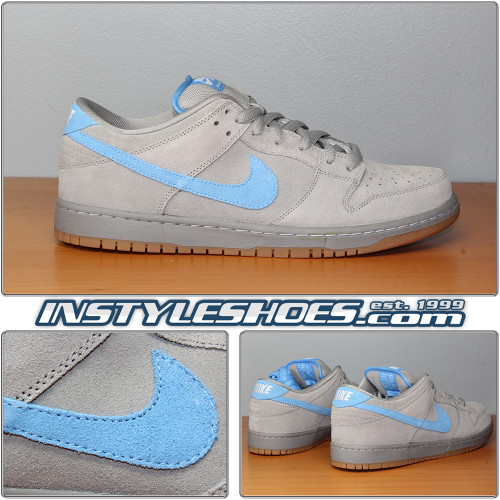 Dunk Low Pro SB Medium Grey University Blue 304292-022