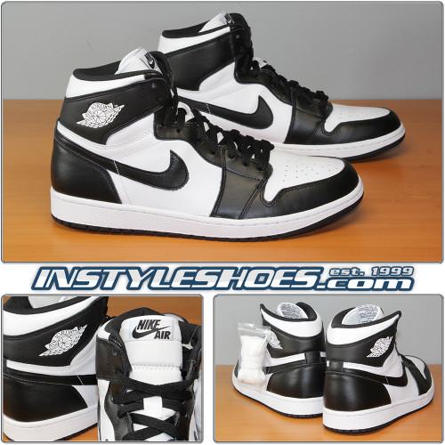 Air Jordan 1 High OG Black White 555088-010