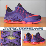 Lebron XII Low Court Purple 724557-565