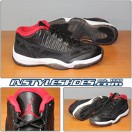Air Jordan 11 Low IE Black University Red 306008-003