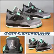 Air Jordan 4 GS Green Glow 408452-033