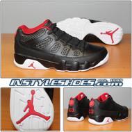 Air Jordan 9 Low Black Red 832822-001