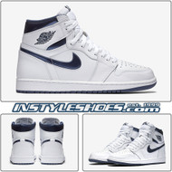 Air Jordan 1 OG High GS Metallic Navy 575441-106