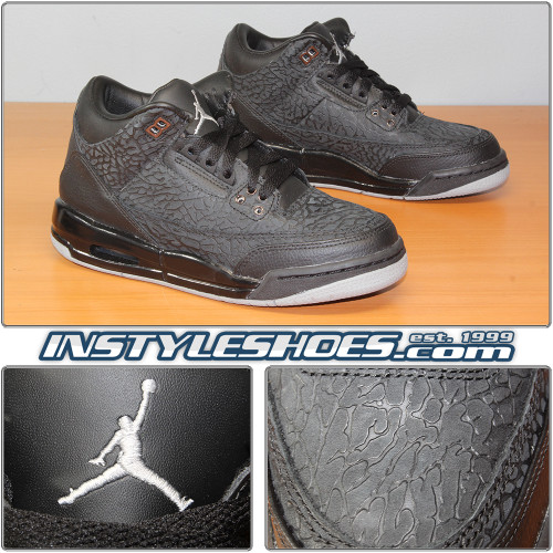 Air Jordan 3 GS Flip Black 315768-001