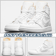 Air Jordan 1 High White Vachetta 845018-142