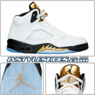 Air Jordan 5 Gold Coin 136027-133