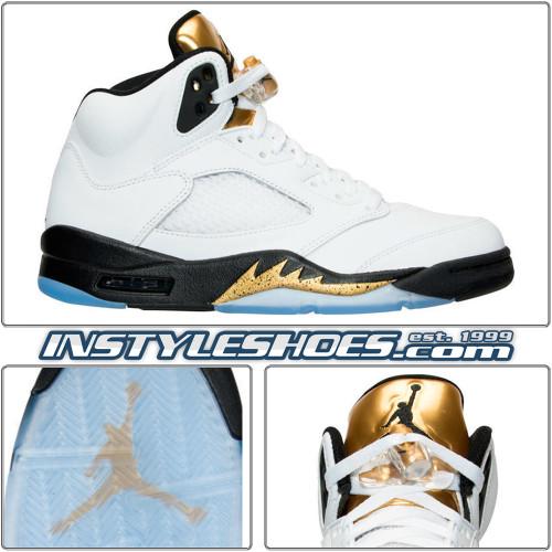 Air Jordan 5 Gold Coin 136027-133