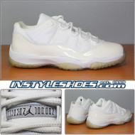 Air Jordan 11 Low Lt. Zen Grey 136053-101