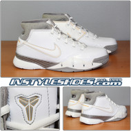 Nike Kobe 1 GS White Grey 313167-111