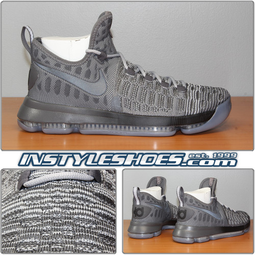 Nike Zoom KD 9 Wolf Grey 843392-002