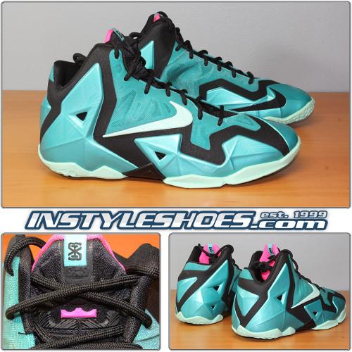 Nike Lebron XI GS South Beach 621712-303