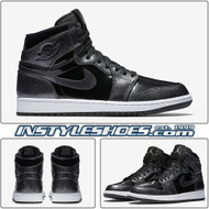 Air Jordan 1 Black Patent Leather 332550-017