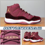 Air Jordan 11 GS Heiress Red Velvet 852625-650