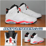 Air Jordan 6 GS Infrared 384665-123