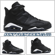 Air Jordan 6 Black Cat 384664-020