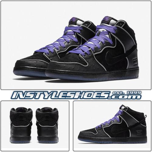 Nike SB Dunk High Black Box 833456-002