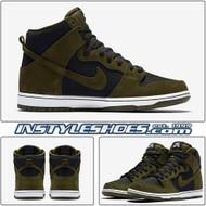 SB Dunk High Olive 854851-330