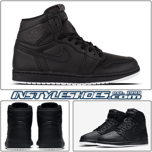 Air Jordan 1 Perforated Black 555088-002