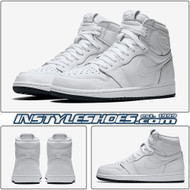 Air Jordan 1 Perforated White 555088-100