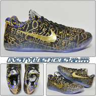 Nike Kobe XI (11) Mamba Day iD - Black/Gold