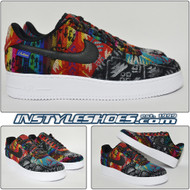 "Nike Air Force 1 ""WHAT THE"" Pendleton iD"
