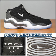Air Zoom Flight 96 Black White 317980-002