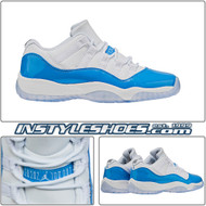 Air Jordan 11 Low GS UNC 528896-106
