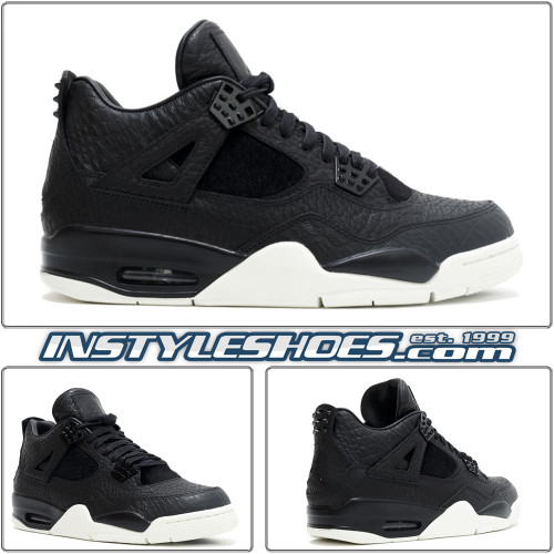 Air Jordan 4 Pinnacle Black 819139-010