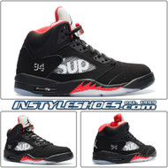 Air Jordan 5 Supreme Black 824371-001
