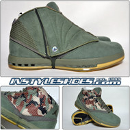 Air Jordan XVI (16) Veterans Day PE - Green