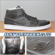 Air Jordan 1 Mid Nouveau Anthracite 629151-005