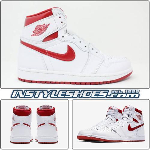Air Jordan 1 High OG Red Metallic 555088-103