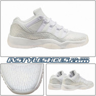 Air Jordan 11 Low GS Heiress Frost White 897331-100