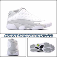 Air Jordan 13 Low White Metallic 310810-100