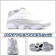Air Jordan 13 Low White Metallic 310810-100
