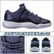 Air Jordan 11 Low GS Blue Moon 580521-408