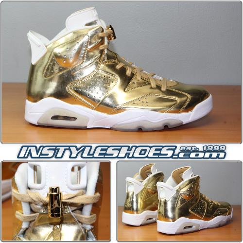 Air Jordan 6 PINNACLE Gold 854271-730
