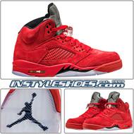 Air Jordan 5 Red Flight Suit 136027-602